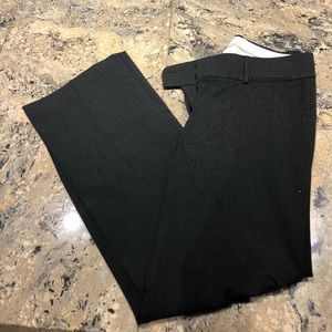 Dark grey loft dress pants never worn!